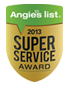 Angie's List Award 2013